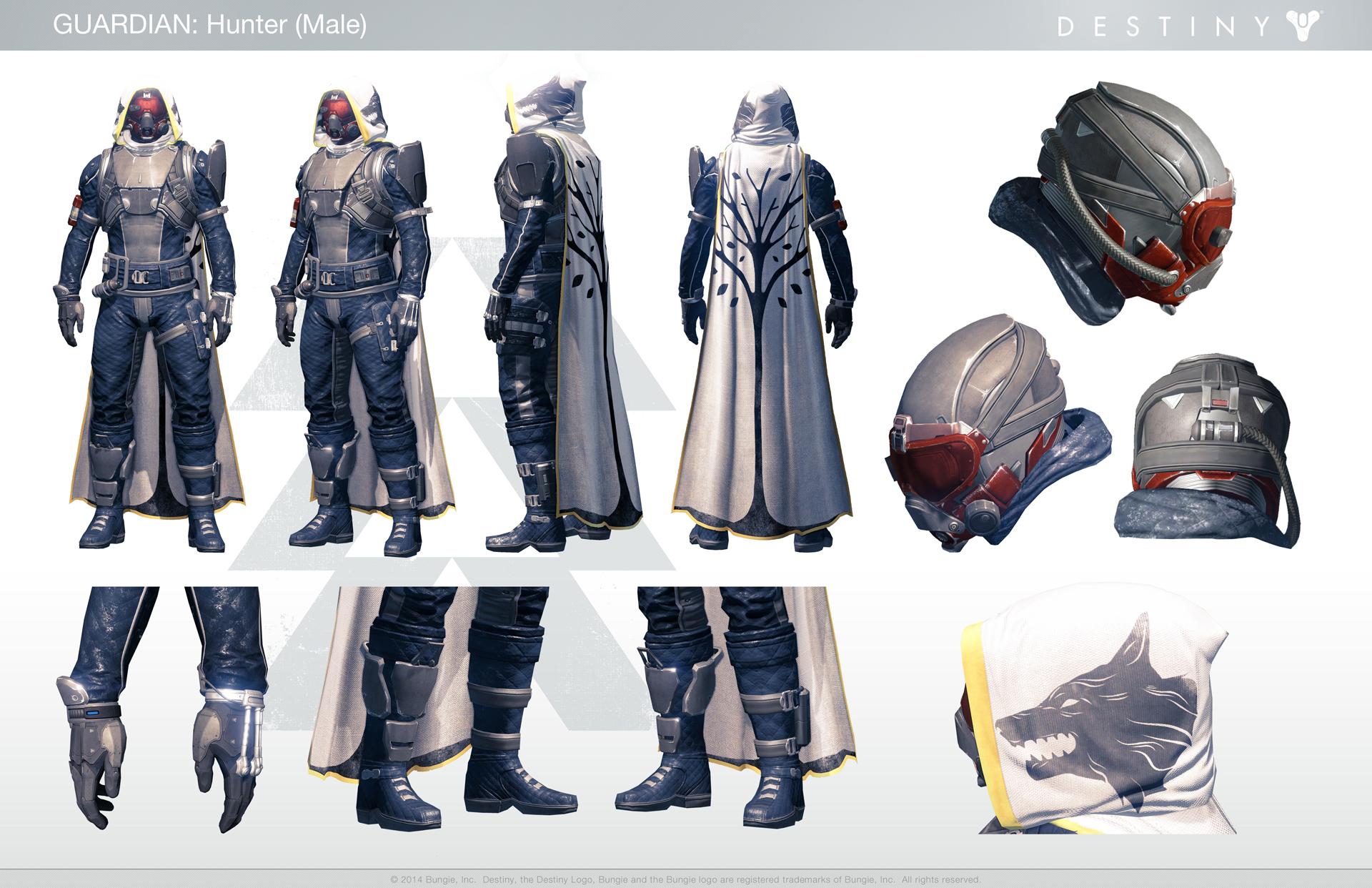 Destiny Concept Art Hunter